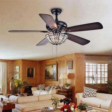 estilo vontage retro lampara de techo ventilador restaurantes bares hoteles diseño decoración