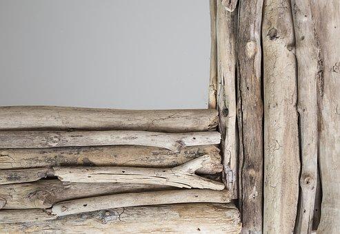 imagen marco madera rustico decorativo