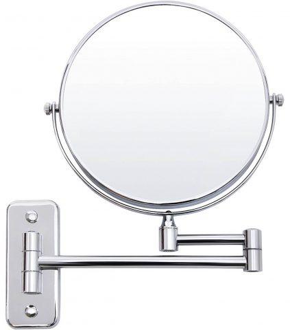 espejo aumento baño pared