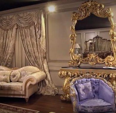 espejos decorativos victoriano comedor