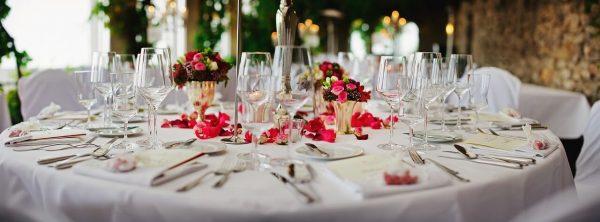 mesa cristal decoracion