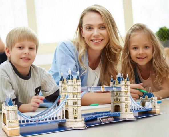puzzles rompecabezas familia hijos diversion comprar online