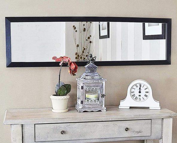 Espejo-decorativo-negro-comedor-recibidor-pasillo-comprar-imagen-espejos