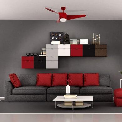 aspas  de colores blanco negro rojo marron metal aluminio forja lamparas modernas estilo calidad mejores precios