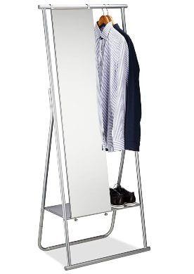 perchero con espejo cuerpo entero zapatero