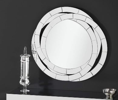 espejos redondos decorativos pared