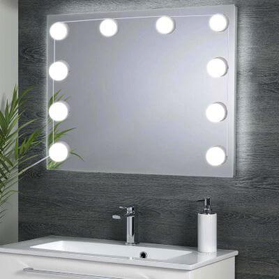 Bombillas adhesivas led para espejos baño bano
