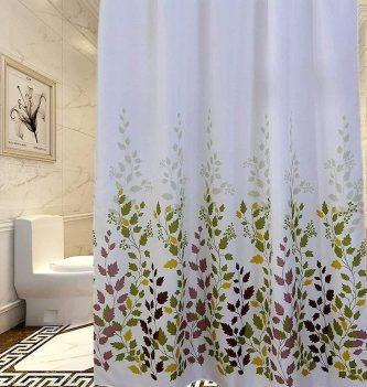 cortina ducha baño impermeable antimoho tela poliester plastico