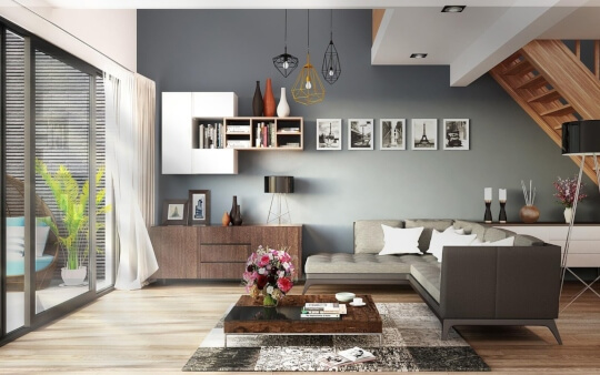 Decorar casas decoracion salon diseño de interiores