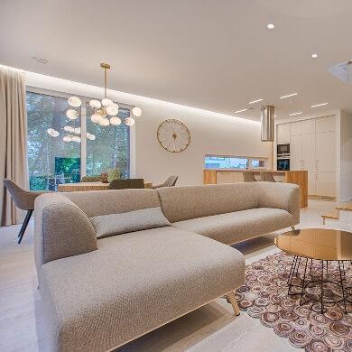 decoracion salon moderno interiorismo