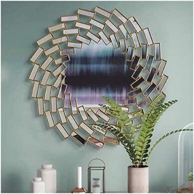 Elegante espejo comedor decorativo comprar online desde casa