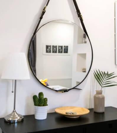 espejo retro vintage diseño moda baño