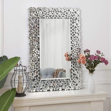Espejos Decorados Espejos Decorados A Mano Decoracion