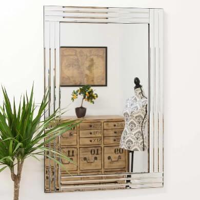 espejos marcos cristal modernos elegantes económicos ofertas rebajas envios gratis compra online domicilio