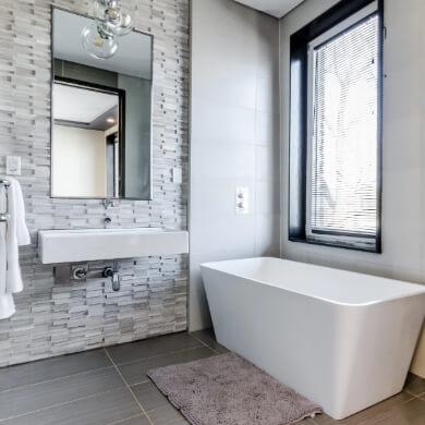 espejo de baño  grande marco de madera decorativo elegante barato