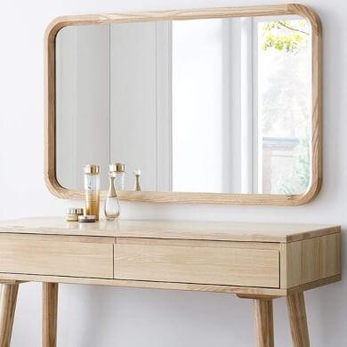 mejores espejos de madera para salon comedor baño recibidor pasillo hoteles restaurantes pisos chalets