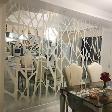 espejos adhesivos de pared no más clavos fáciles de pegar montar colocar salones comedores dormitorios