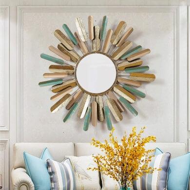 espejos sol decoracion de interiores salon comedor dormitorio hoteles restaurantes