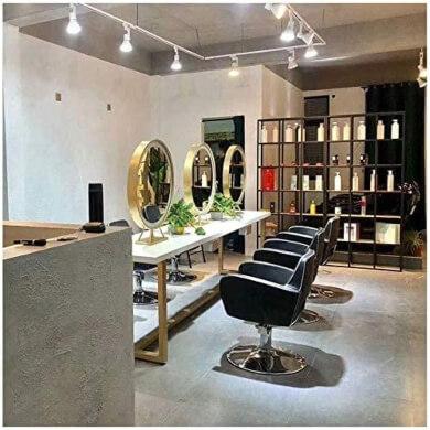 espejos led para peluquerias salones de belleza vestidores modistas estilistas profesuinales belleza moda estilo negocio