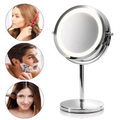 espejos para jóvenes y adolescentes pelo barba cejas labios pestañas belleza facial acné