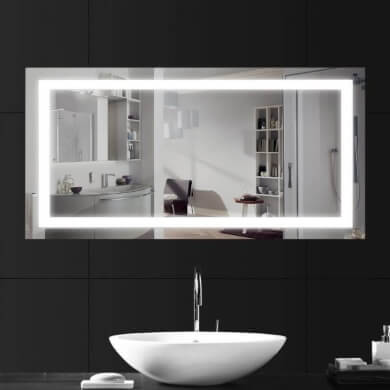 espejos decorativos para bñao con luz led decorativos y funcionales precios baratos pagos a plazos