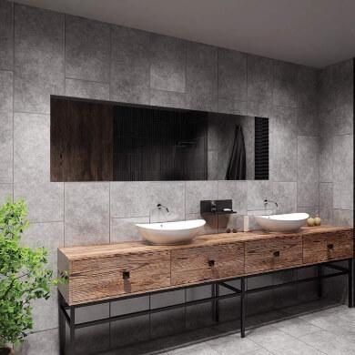 espejos decorativo sin marco horizontal baño pasillo recibidor dormitorio comedor