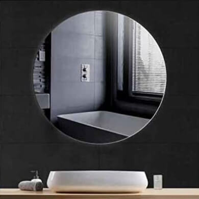 espejos redondos salon comedor recibidor pasillo dormitorios baños hoteles restaurantes colegios locales comerciales