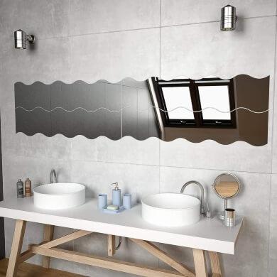 espejos sin marco decorativos para baño salon comedor dormitorio pasillo recibidor