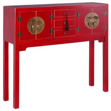Estilo decorativos oriental moda tendencia diseño muebles casa recibidores