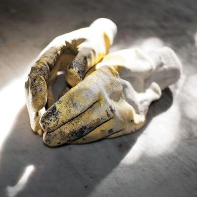 guantes protectores de manos artesanos manualidades trabajos manuales