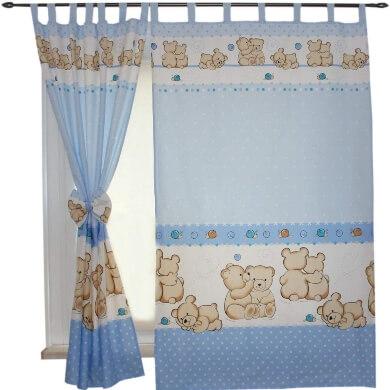 cortinas infantiles modelos estilos colores decoracion dormitorio