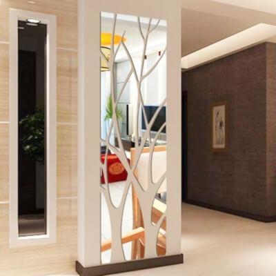 espejos adhesivo decoracion seguridad niños espejo salon comedor dormitorio