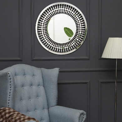 espejos decorativos para comedor marco cristal diseño unico