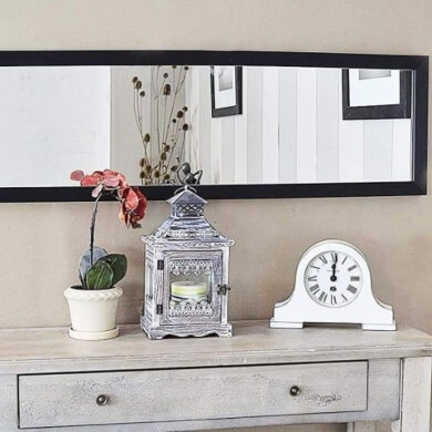 espejos moderno marcos decorados  cuero piel salon comedor recibidor dormitorio decoracion