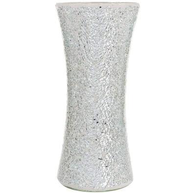 jarrones de cristal florero mosaico diseño decoracion