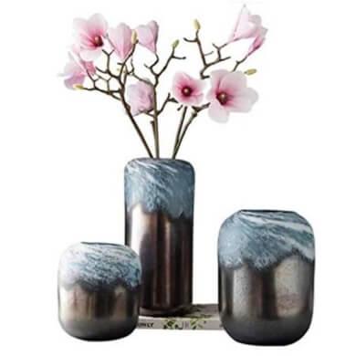 jarron florero maceta cristal decoración interiores