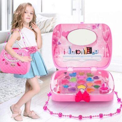 tocador para niñas maletin maquillaje niña juguete guapa princesa