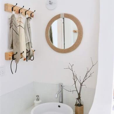Ideas Para Decorar Espejos Espejos Decorados A Mano