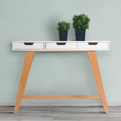 Mueble Recibidor diseño moda estilo práctico espacio comodo