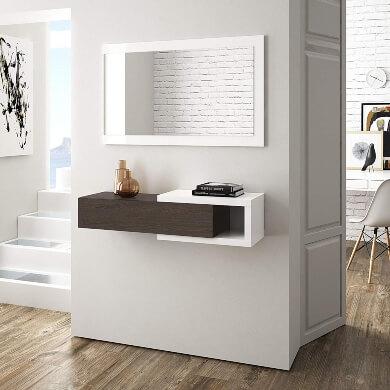 Mueble suspendido recibidor comedor pasillo dormitorio modelo diseño moderno actual