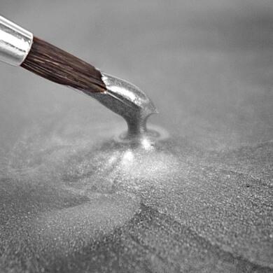 pintura metalizada color plata plateado manualidades faciles