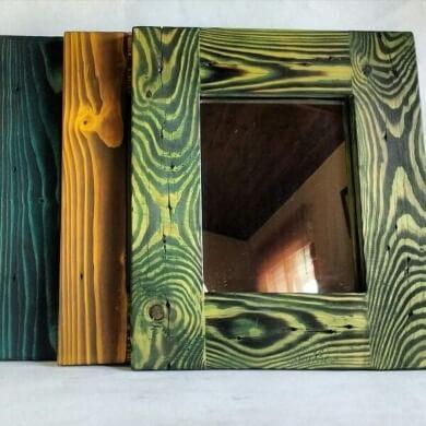 como hacer espejos decorados a mano paso a paso bricolaje manualidades