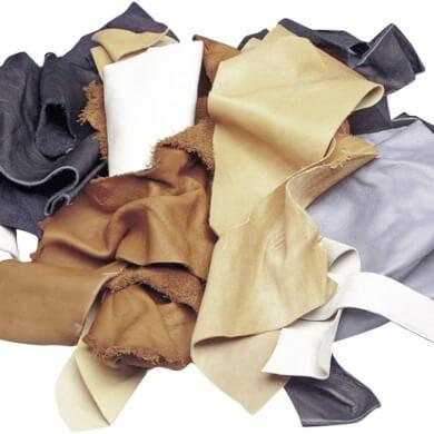 cuero piel telas restos reciclar manualidades bricolaje artesania
