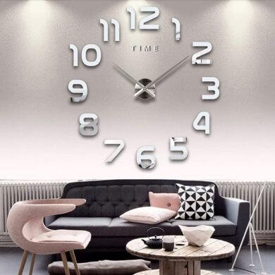 reloj adhesivo de pared decorativo vinilo para pegar hora