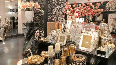tienda accesorios decoracion interiores jarrones marcos fotos relojes pared hogar