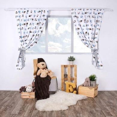 cortina dormitorio infantil niño niña habitacion