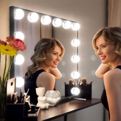 espejo con luz maquillaje camerino tocador