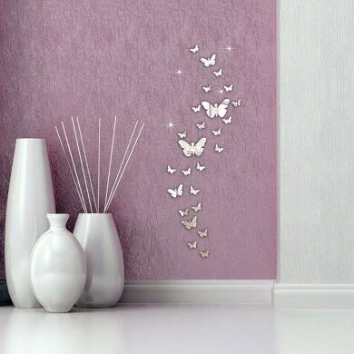 manualidades para niños espejo mariposa