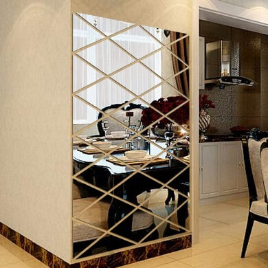 espejos decorativos para comedor adhesivos laminas vinilo