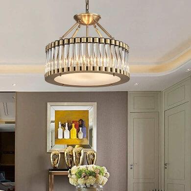 lamparas jarrones cuadors espejos dorados elegantes económicos envío gratis